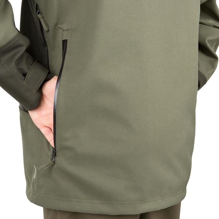 Veste chasse Supertrack 300 imperméable vert - 42207