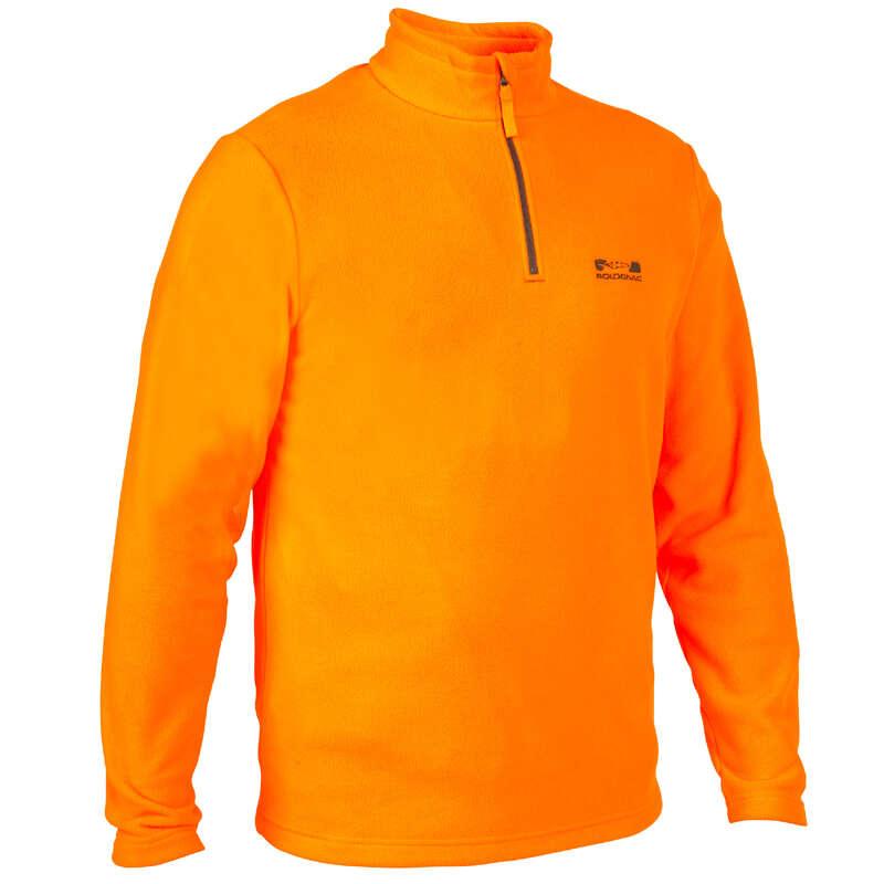 ABBIGLIAMENTO BATTUTA / POSTA FLUO Abbigliamento uomo - Pile 100 fluo SOLOGNAC - Abbigliamento uomo