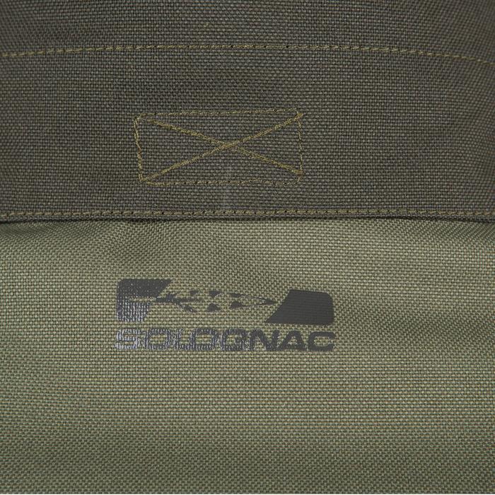 Chaqueta Caza Solognac Supertrack 300 Impermeable Reforzada Verde