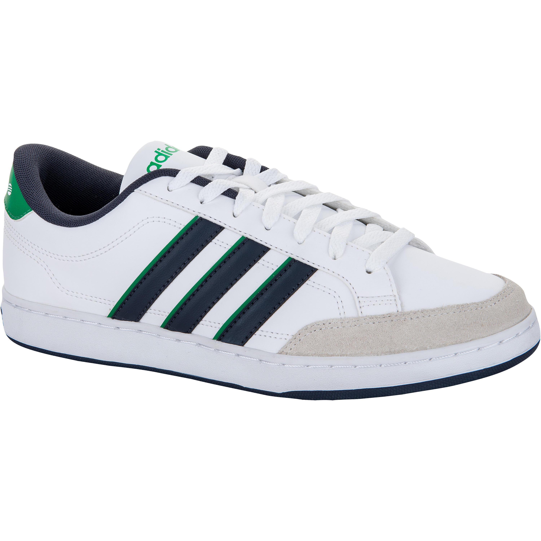 Homme Gris Chaussures Adidas De Tennis Vlset Blanc W9EH2IYD
