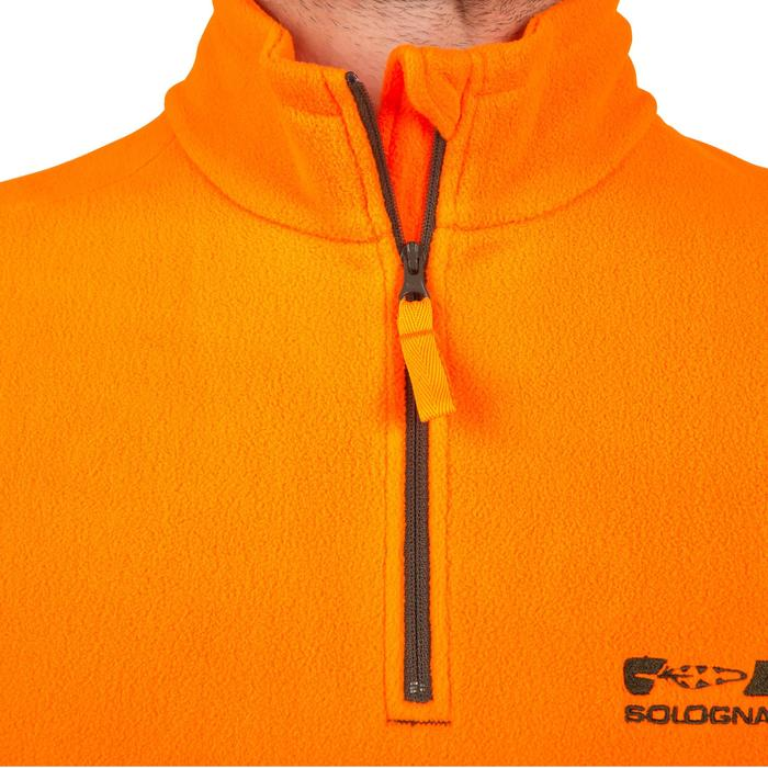 Polaire chasse 100 fluo