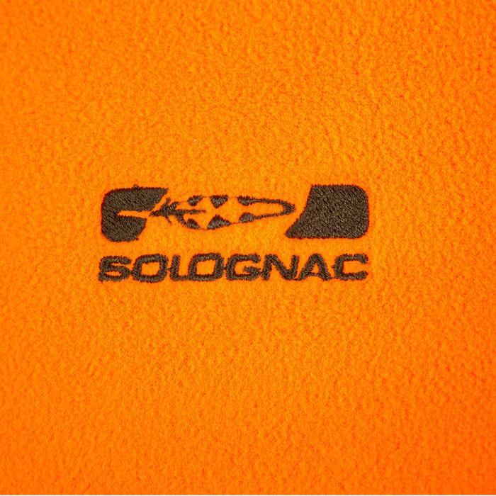 Polaire chasse 100 orange fluo