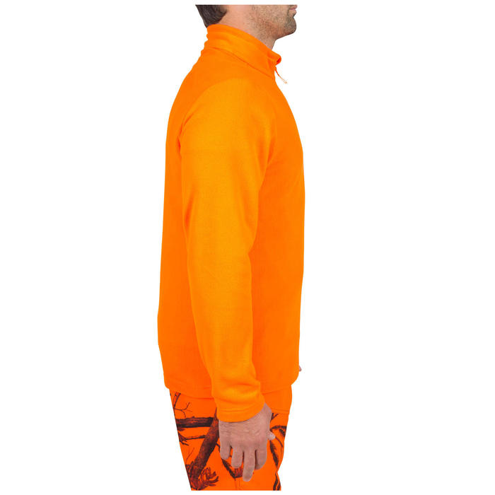 Jagd-Fleecepullover 100 Orange