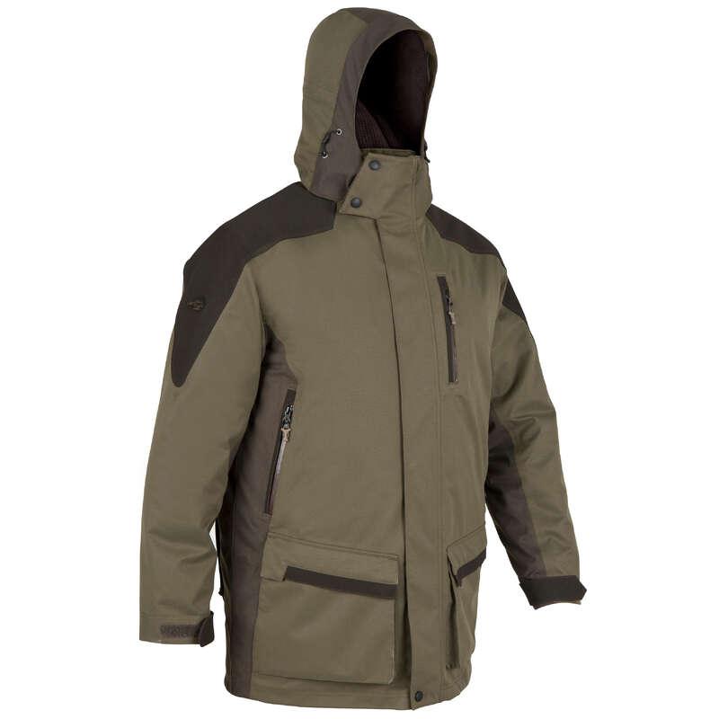 WARM CLOTHING Shooting and Hunting - SIBIR 500 WATERPROOF PARKA SOLOGNAC - Hunting and Shooting Clothing