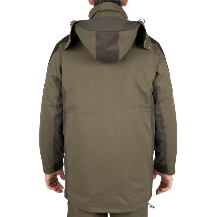 Parka chasse imperméable Sibir 500 vert - 42236