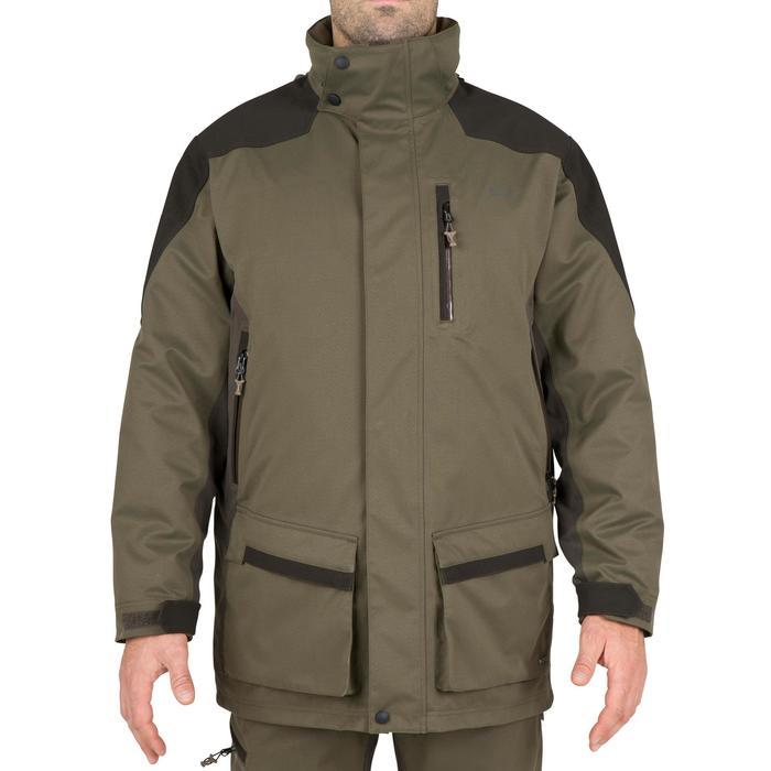 Parka chasse imperméable Sibir 500 vert - 42237