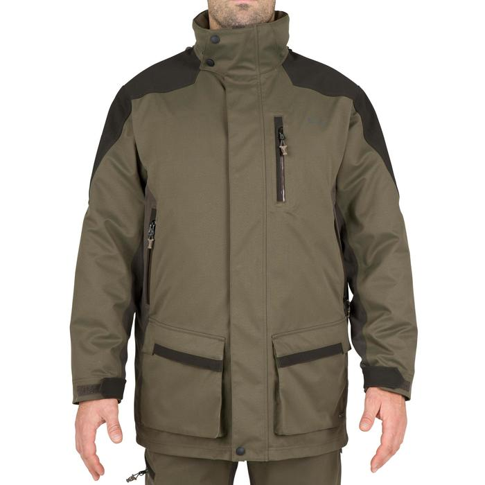 Waterdichte jagersparka Sibir 500 groen - 42237