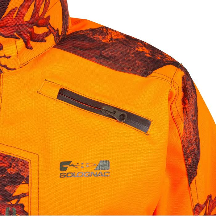 JAGDJACKE SUPERTRACK 300 CAMOUFLAGE ORANGE