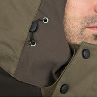 WATERPROOF AND SILENT HUNTING PARKA 520 GREEN
