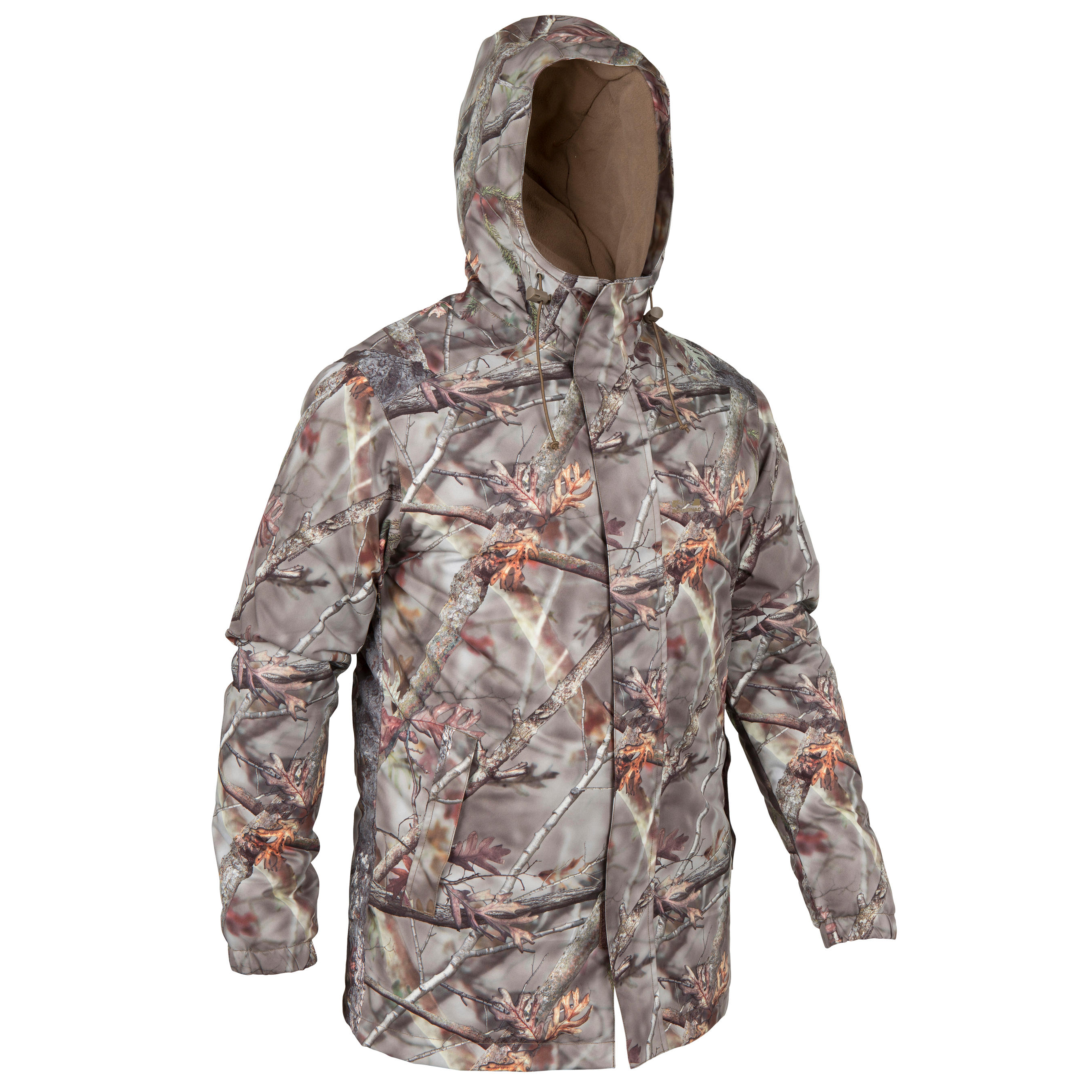 Solognac Waterdichte jagersparka Posikam 100 camouflage bruin