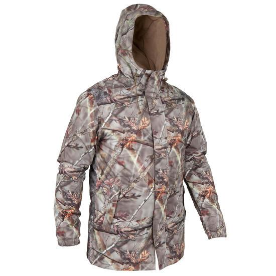 Waterdichte parka Posikam 100 camouflage bruin - 42258