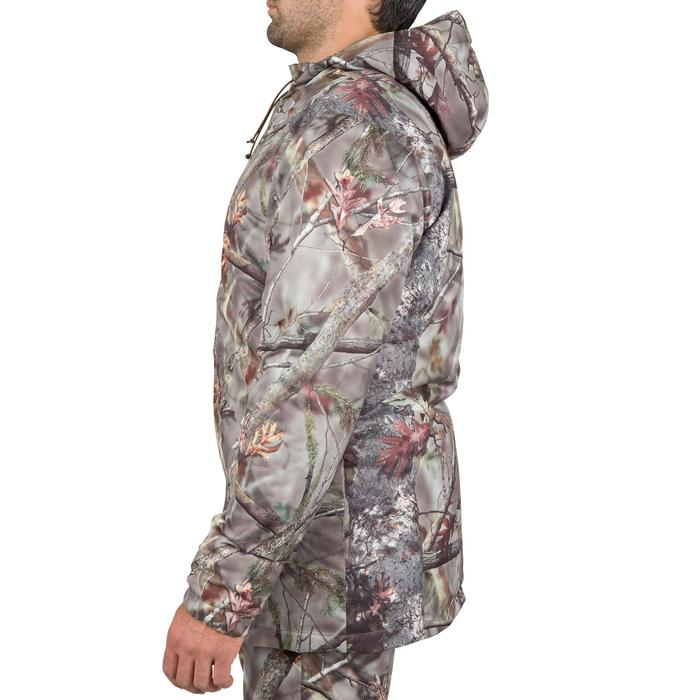 Veste chasse Posikam 100 imperméable camouflage marron - 42259