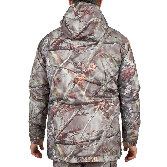 Veste chasse Posikam 100 imperméable camouflage marron - 42263