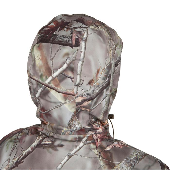 Veste chasse Posikam 100 imperméable camouflage marron - 42265