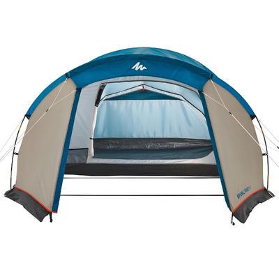 אוהל משפחתי למחנאות Arpenaz 4 4 אנשים