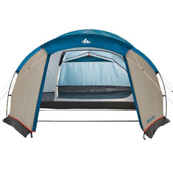 ARPENAZ 4 Pole-Supported Camping Tent | 4-Person 1 Bedroom