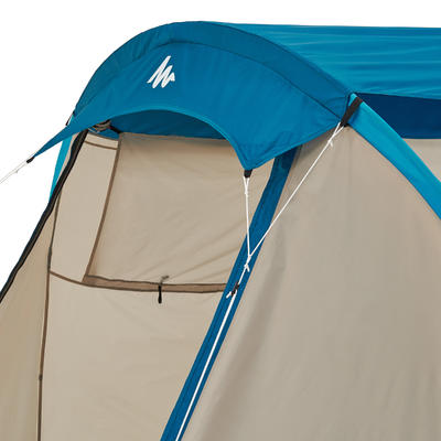 ARPENAZ 4 Pole-Supported Camping Tent _PIPE_ 4-Person 1 Bedroom