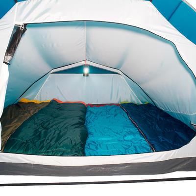 Tente de camping à arceaux ARPENAZ 4 _PIPE_ 4 Personnes 1 Chambre