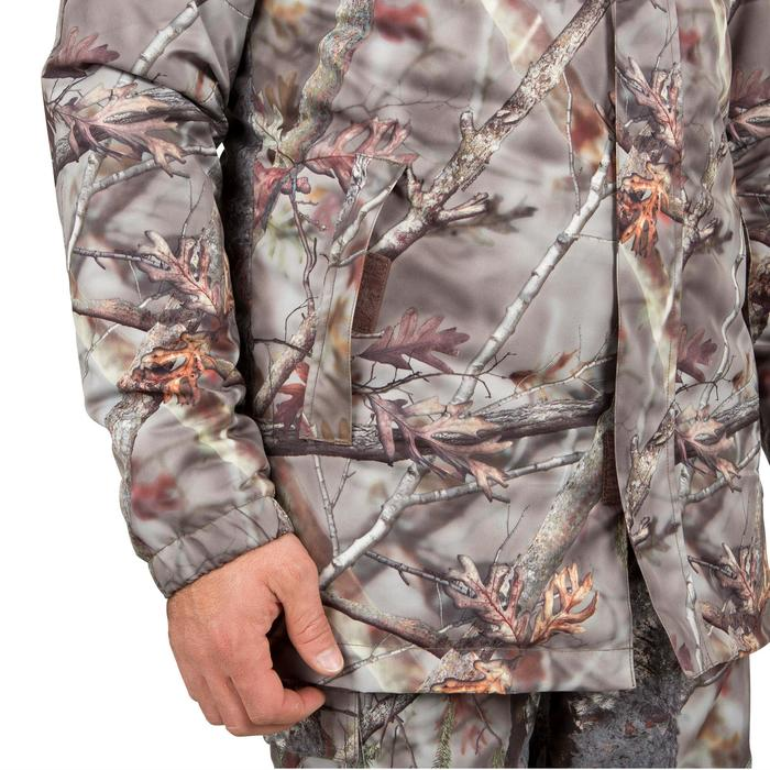 Veste chasse Posikam 100 imperméable camouflage marron - 42273