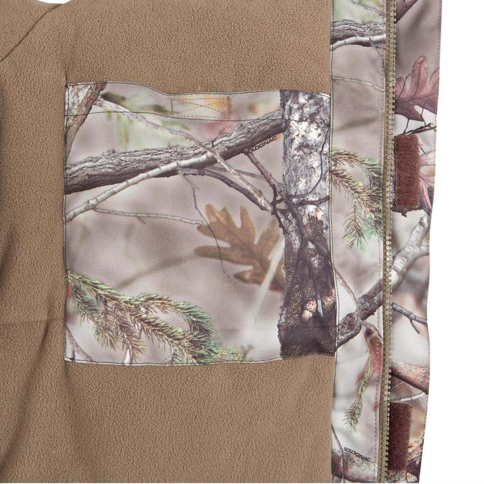 Veste chasse Posikam 100 imperméable camouflage marron - 42276
