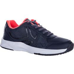 Tennisschoenen dames TS160 zwart
