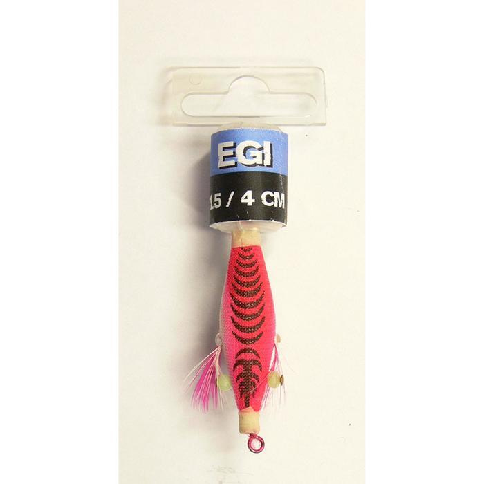 Kunstköder ballastiert Egi 1,5 Tintenfischköder 4 cm rosa
