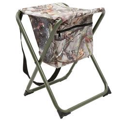 Vouwstoel camouflage bruin