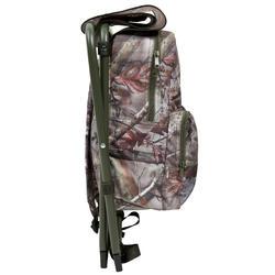 Jagersstoel met rugzak camouflage bruin - 42322