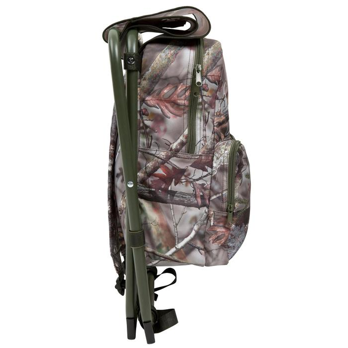 Chaise chasse sac à dos camouflage marron - 42322