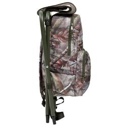 Rugzakstoel voor de jacht camouflage bruin