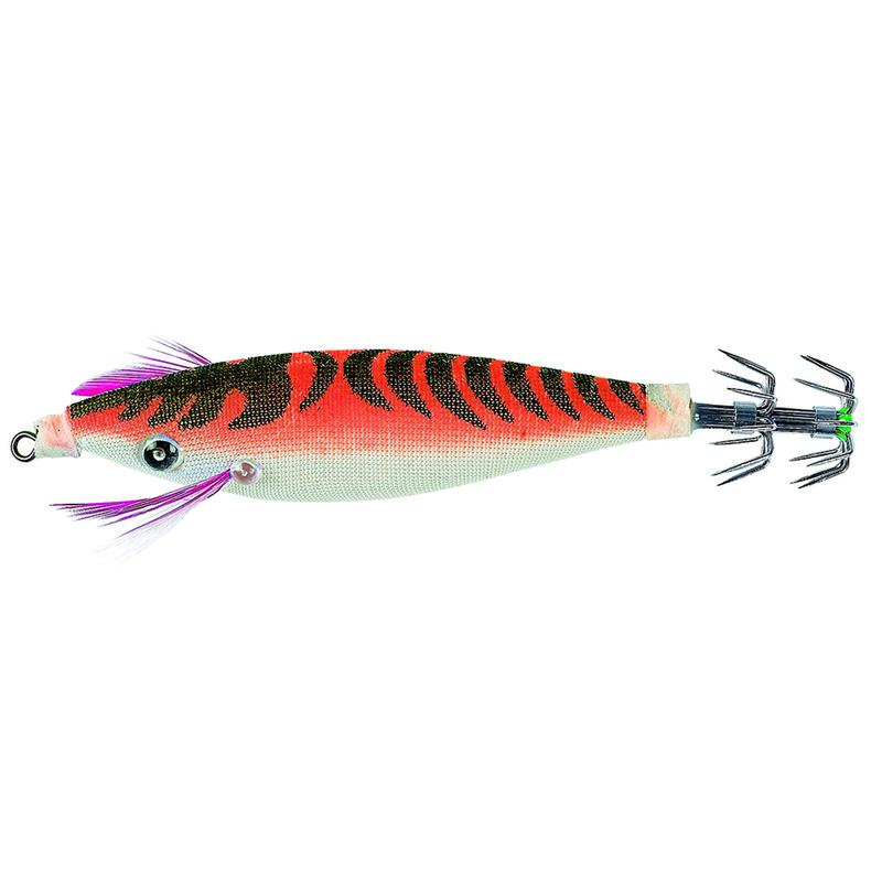 Totanara galleggiante pesca seppie/calamari JIGGY arancione 2,5 9 cm