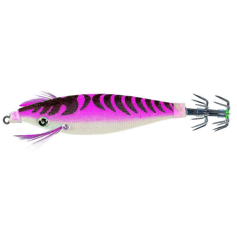 Squid jig voor zeekat / pijlinktvis JIGGY drijvend roze 2.5 9 cm