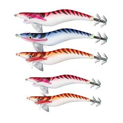 Inktvispluggen zeevissen set Egi verzwaard x5