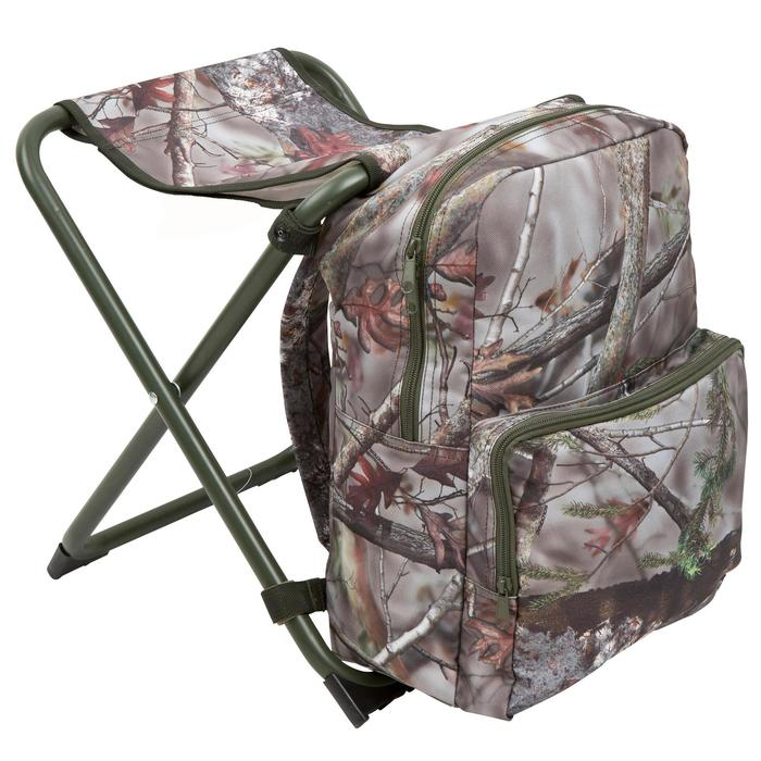 Chaise chasse sac à dos camouflage marron - 42323