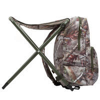 Hunting Backpack Chair - Camouflage Brown