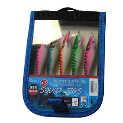 inktvispluggen vissen op zee pak inktvisplug x 5 - 423249