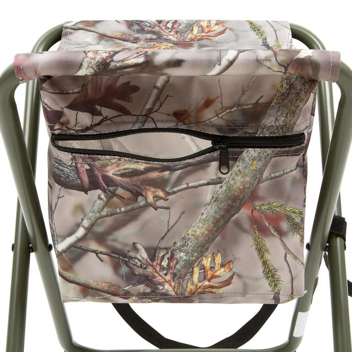 Chaise chasse pocket camouflage marron
