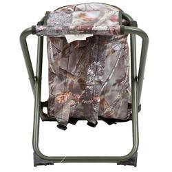 Jagersstoel met rugzak camouflage bruin - 42327