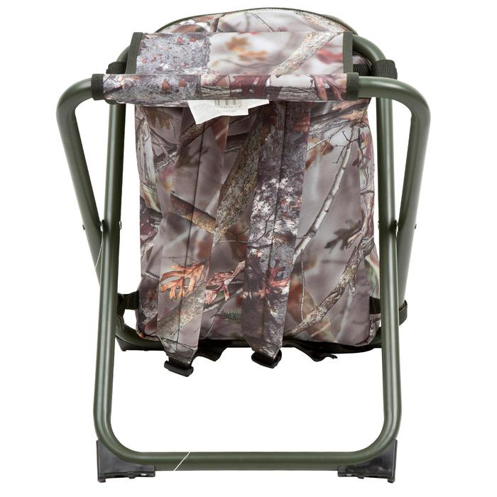 Chaise chasse sac à dos camouflage marron - 42327