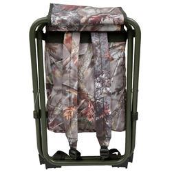 Jagersstoel met rugzak camouflage bruin - 42328