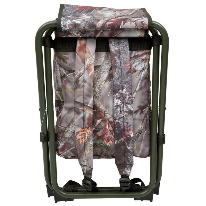 Chaise chasse sac à dos camouflage marron - 42328