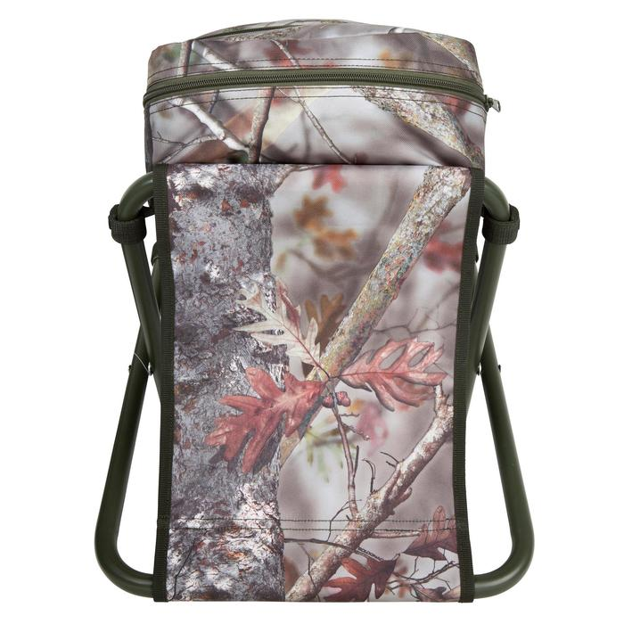 Chaise chasse sac à dos camouflage marron - 42332