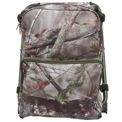 Jagersstoel met rugzak camouflage bruin - 42335