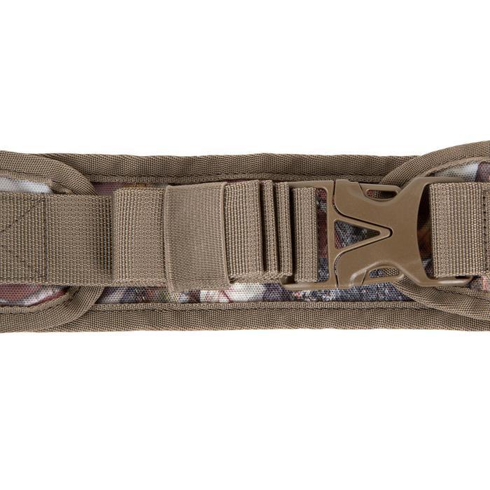Patroongordel voor de jacht kaliber 12 camouflage bruin
