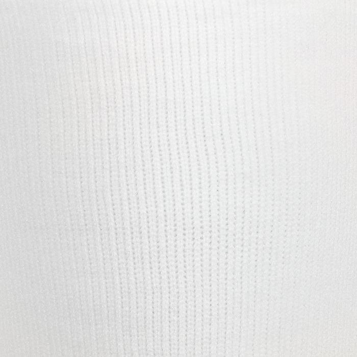 Chaussettes hautes football adulte F700 blanc
