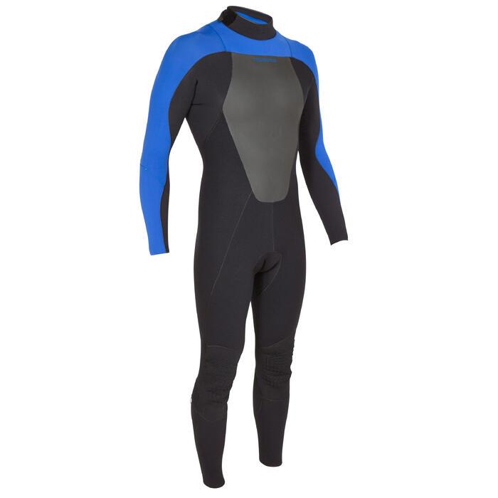 Combinaison Surf 500 Néoprène 4/3 mm Homme Bleu - 423591