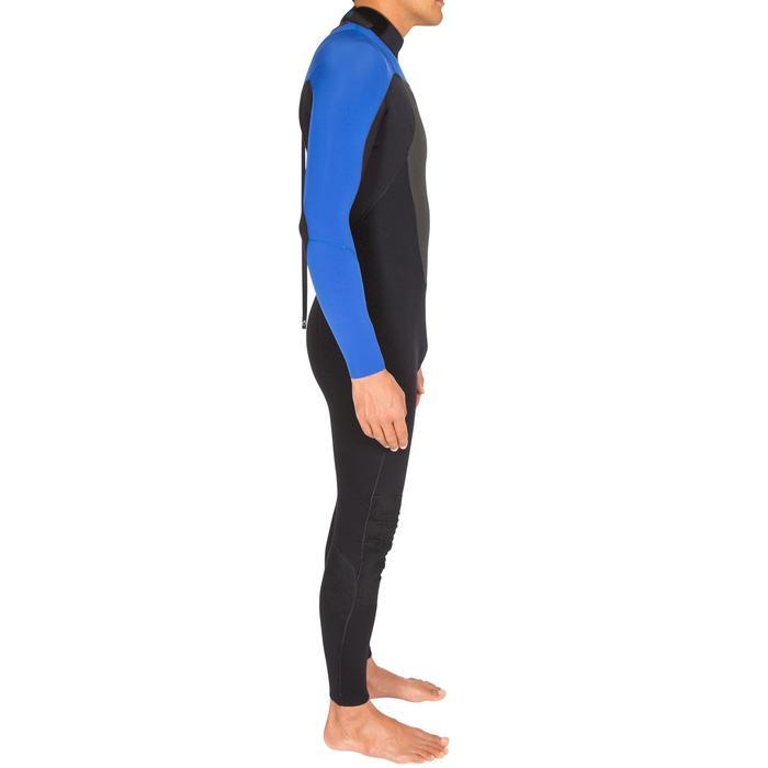 Combinaison Surf 500 Néoprène 4/3 mm Homme Bleu - 423592