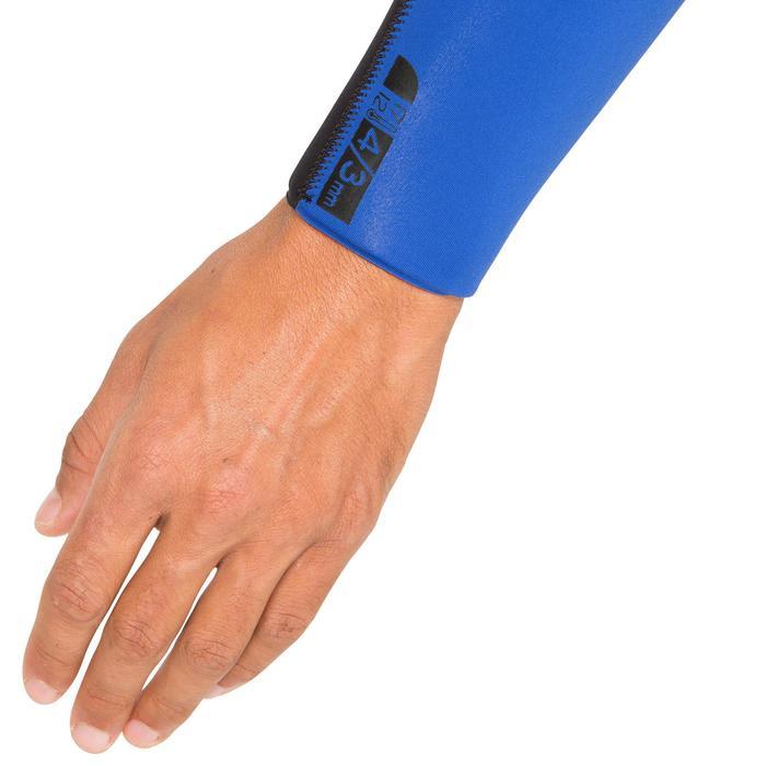 Combinaison Surf 500 Néoprène 4/3 mm Homme Bleu - 423593
