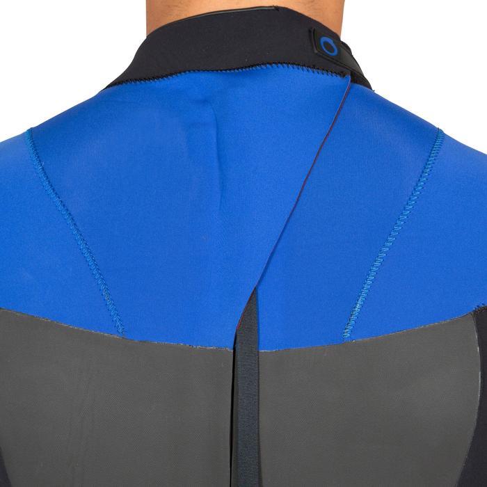 Combinaison Surf 500 Néoprène 4/3 mm Homme Bleu - 423598