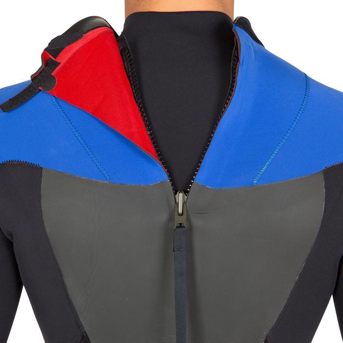 Combinaison Surf 500 Néoprène 4/3 mm Homme Bleu - 423600